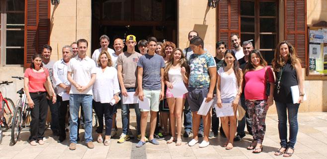 Santanyí clausura el programa de apoyo a jóvenes de ESO