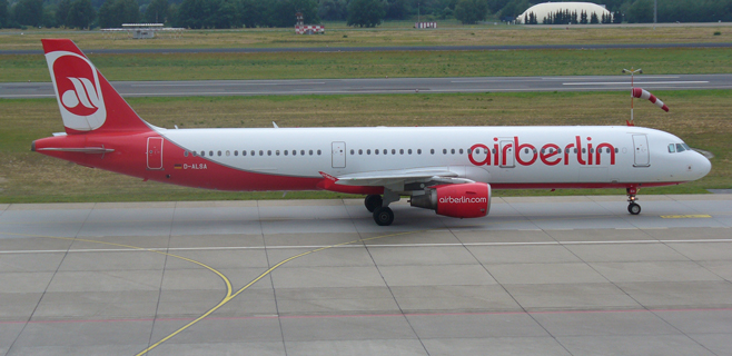 Un avión de Air Berlin realiza un aterrizaje de emergencia en Palma