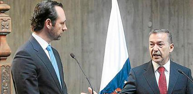Paulino Rivero añadirá en Mallorca más presión sobre Soria por los sondeos