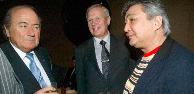 Bild publica una foto de Blatter con un mafioso ruso
