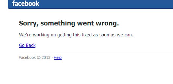 Vuelve Facebook tras la caída
