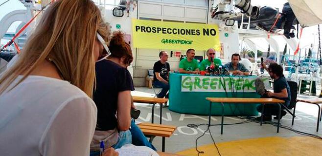 Greenpeace viene al Mediterráneo a pedir el