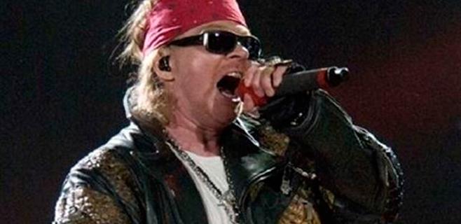 Guns n' Roses publicará un concierto en 3D