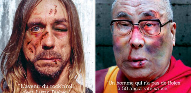 Amnistía Internacional maltrata a Iggy Pop y el Dalai Lama