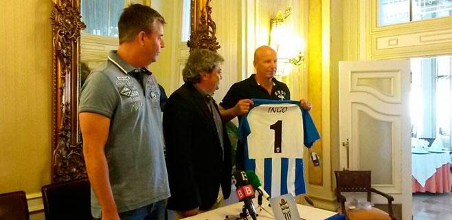 El Atlètic Balears presenta a su nuevo propietario