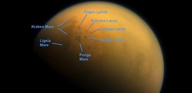 Titán tiene estaciones como la Tierra