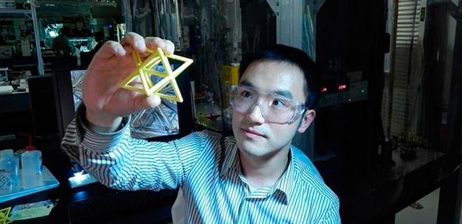 Presentado un material que soporta 160.000 veces su peso