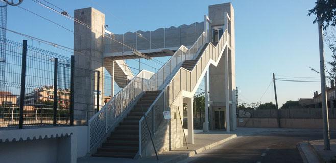 El paso de Can Foradí se inaugura hoy tras 32 años de reivindicaciones
