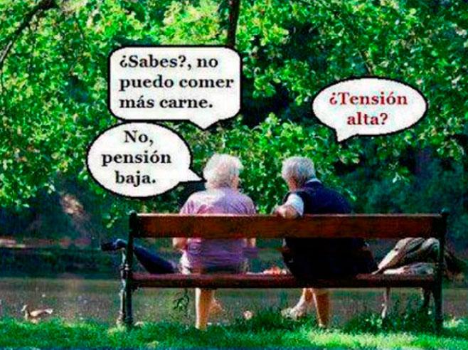 La dieta de la pensión
