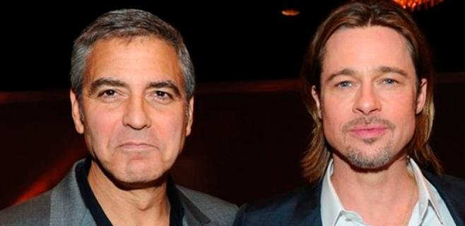 Brad Pitt será el padrino de la boda de George Clooney