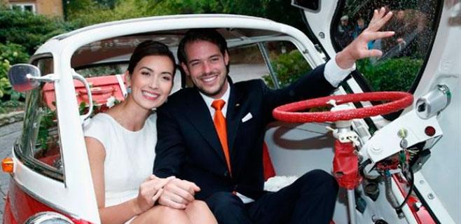 Los príncipes de Luxemburgo ya son padres
