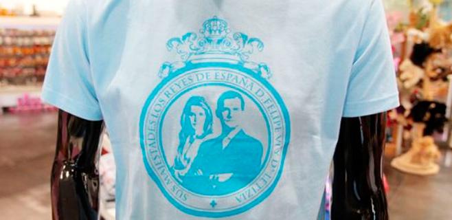 Madrid se inunda de souvenirs por la proclamación
