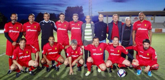 Los veteranos del Mallorca juegan este fin de semana en Kossen