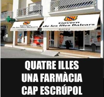 """Un Govern en """"la farmacia"""""""