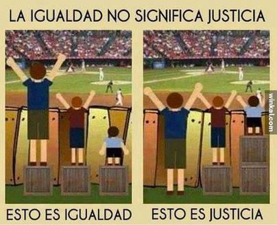 De la justicia y la igualdad