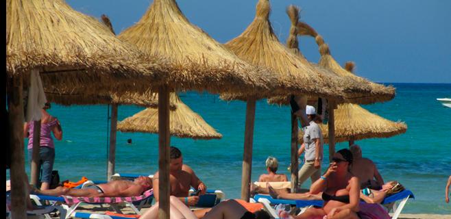 El gasto turístico de extranjeros en Balears cae un 3,6% de enero a junio