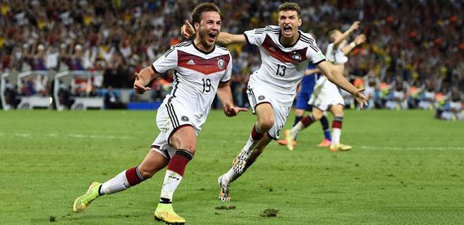 Alemania ya es tetracampeona del Mundo