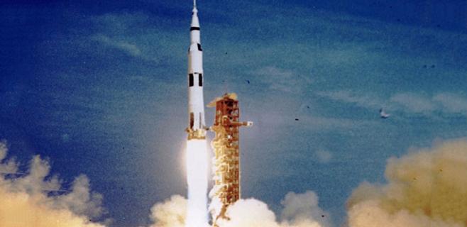 Se cumplen 45 años del lanzamiento del Apolo XI