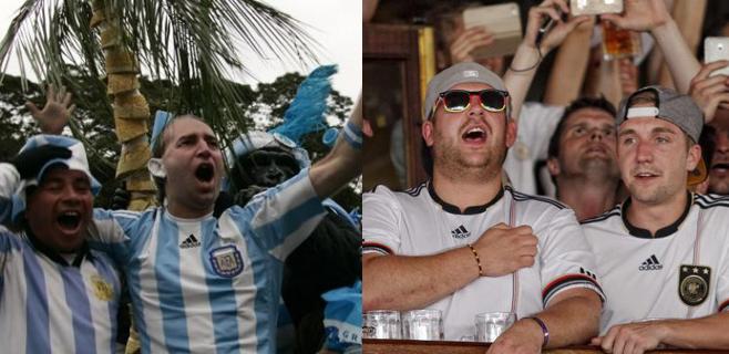Final del Mundial para 42.000 argentinos y alemanes en Mallorca