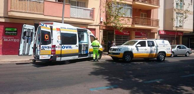 Atropellada una niña de 6 años en Pere Garau