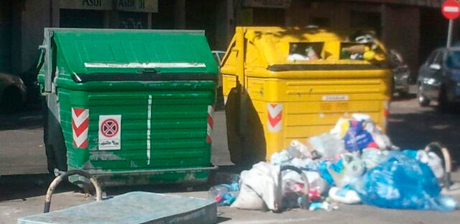 EMAYA niega que sólo se recoja la basura del centro y zonas turísticas