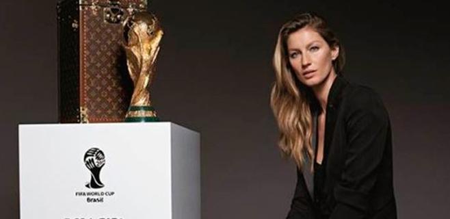 Gisele Bündchen sí entregará la Copa del Mundial