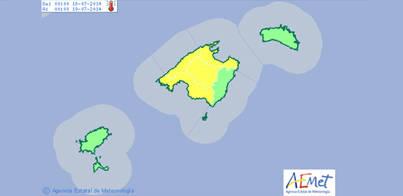Llega a Mallorca la primera ola de calor