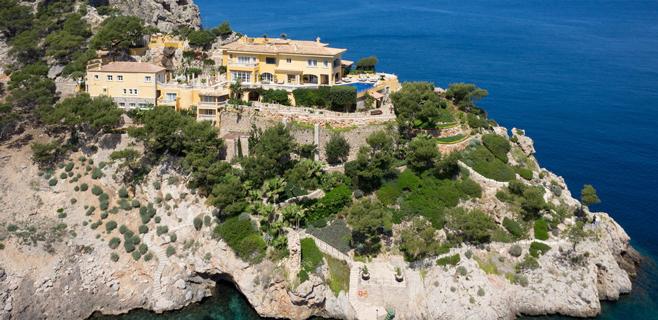 Sale a la venta el refugio de Lady Di en Mallorca