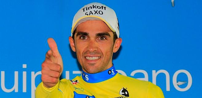 Contador tambi�n dice adi�s a la Vuelta