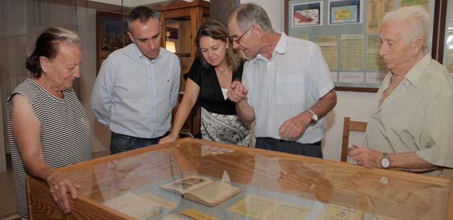 El Consell respalda la exposición de Cristóbal Colom de Felanitx