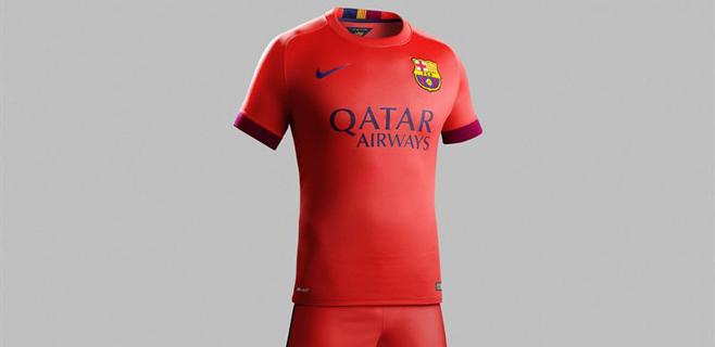 El Barça cambia la senyera por el carmesí