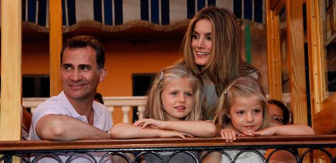 Felipe y Letizia vendrán a Marivent en agosto y se quedarán