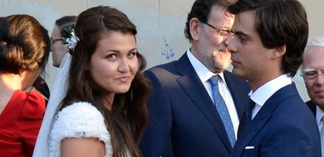 El Ministro de Guindos casa a su hija
