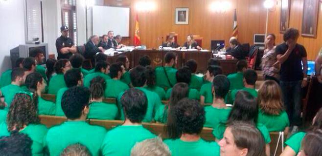 La sentencia del cerco al Parlament catalán afectaría al