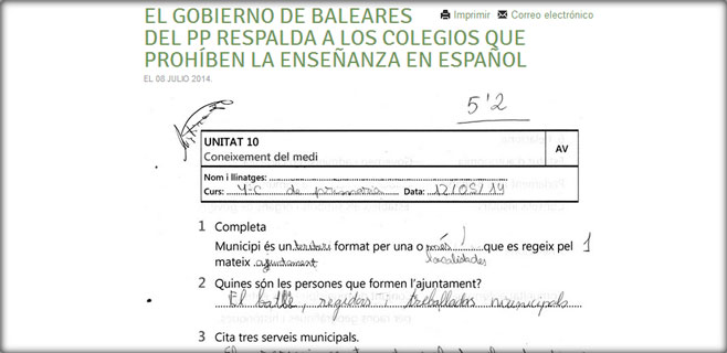 Més denuncia que el Círculo Balear hostiga a una profesora de Campos