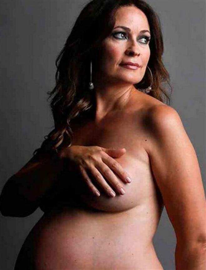 Olvido Hormigos reaparece desnuda y embarazada