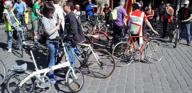 El 37% de los palmesanos se mueve por la ciudad usando la bicicleta