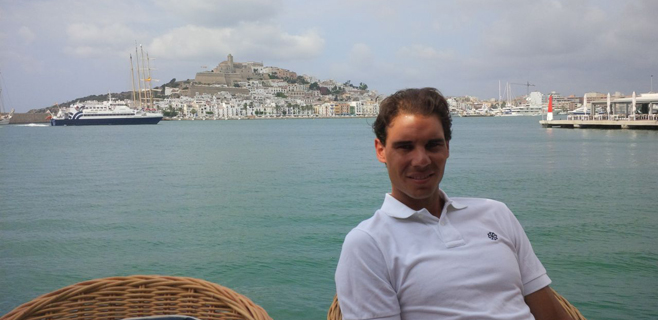 Rafa Nadal elige Eivissa para descansar