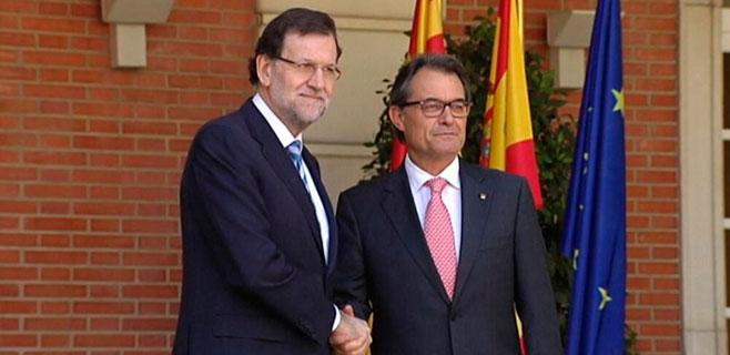 Rajoy y Más se reúnen para no acordar nada sobre la consulta