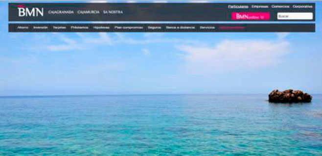 SA NOSTRA-BMN renueva su web