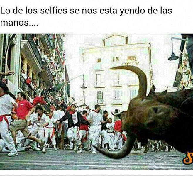 El mejor selfie del San Fermín