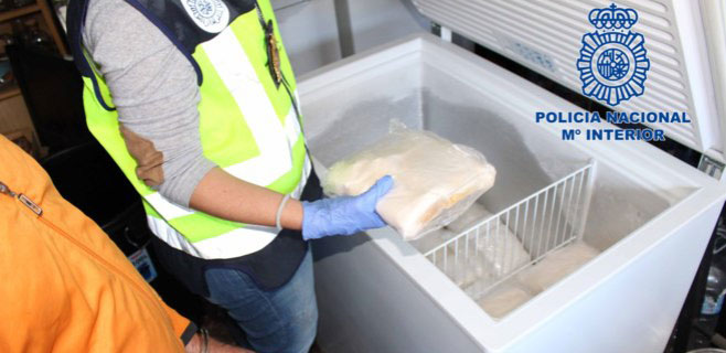 Incautadas 2,5 millones de dosis de speed en Guadalajara