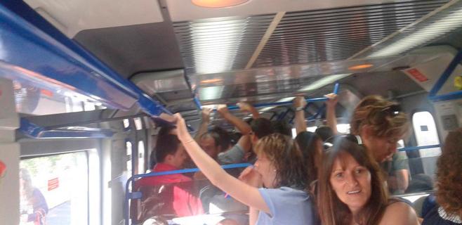 SFM solventa los retrasos en la línea Palma-Inca con trenes de gasóleo