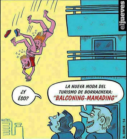 El 2x1 de Magaluf: mamading y balconing