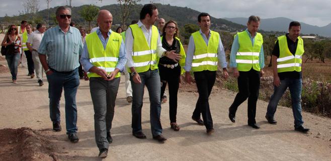 La Vía Verde Manacor-Artà estará acabada y operativa en septiembre