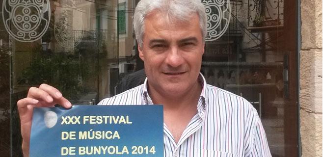 El Festival de Música de Bunyola arranca con Jaume Anglada