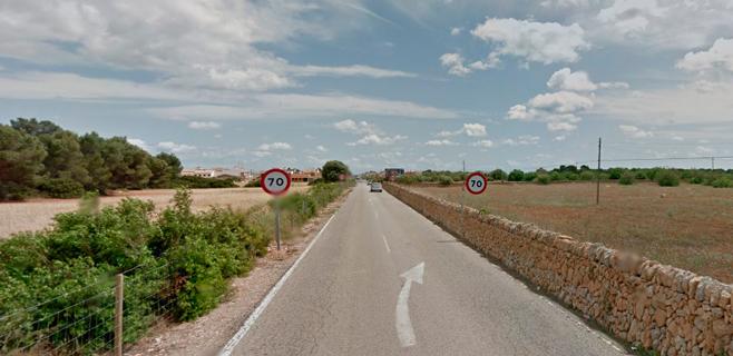 Un motorista fallece tras colisionar contra un muro en S'Estanyol