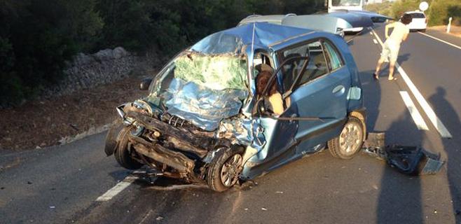 Una mujer fallece en un accidente en la carretera de Felanitx a Campos