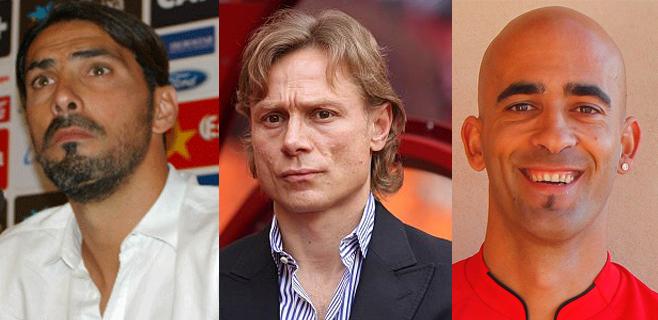 Aouate, Karpin y Nunes quieren devolver al Mallorca a Primera