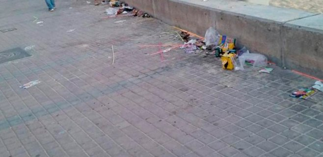 El PSIB pide más seguridad ante las excursiones etílicas en Platja de Palma